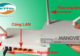 cấu tạo mạng wifi viettel